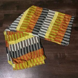 Echo patterned scarf from Dillard's